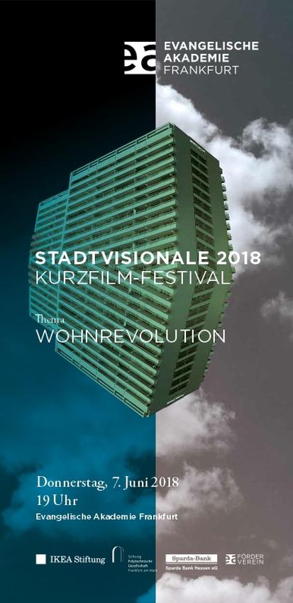 Flyer stadtvisionale2018festival